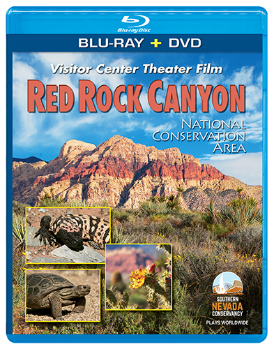 Red Rock Canyon Theater Film Blu-ray + DVD