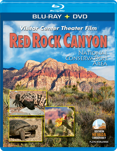 Red Rock Canyon Theater Film Blu-ray Combo Pack