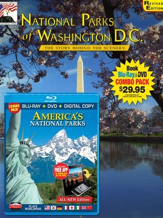National Parks of WashingtonDC Book/ America's Parks Blu-ray