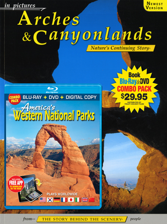 Arches & Canyonlands IP Book/Western Parks Blu-ray Combo