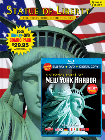 Statue of Liberty Book/Nat'l Parks of New York Harbor Blu-ray Co