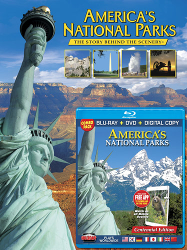 America's National Parks Book/ Blu-ray Combo Pack