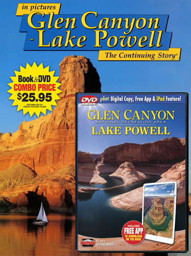 Glen Canyon-Lake Powell Book/DVD Combo