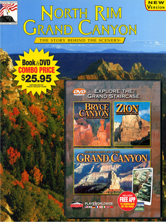 North Rim Grand Canyon, Bryce Canyon, Zion Book/DVD Combo