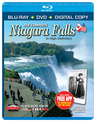 The Complete Niagara Falls, Blu-ray Combo Pack