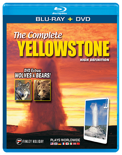 The Complete Yellowstone Blu-ray + DVD