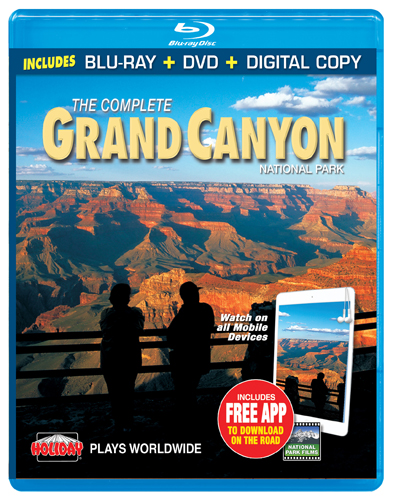 The Complete Grand Canyon National Park, Blu-ray Combo Pack