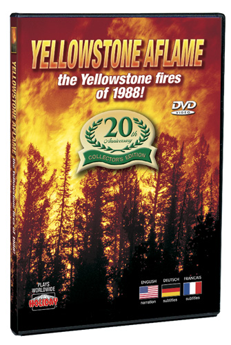 Yellowstone Aflame: 20th Anniversary Collectors Edition DVD