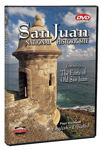San Juan National Historic Site, Puerto Rico DVD