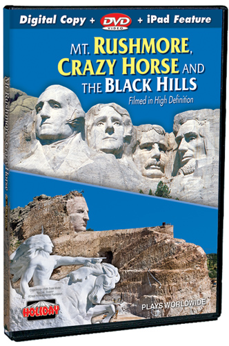 Mt. Rushmore, Crazy Horse & The Black Hills DVD