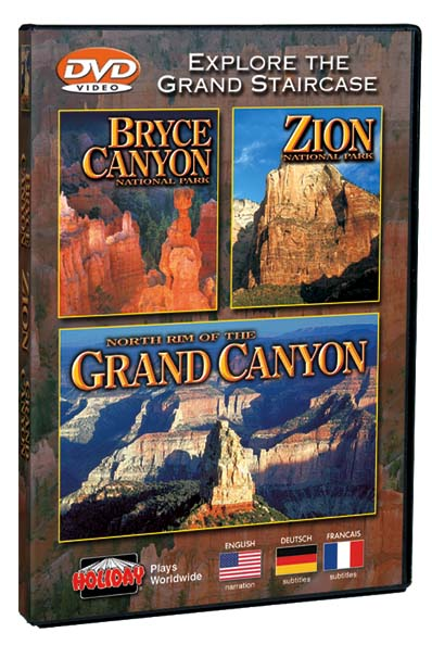 Bryce, Zion & North Rim of the Grand Canyon DVD