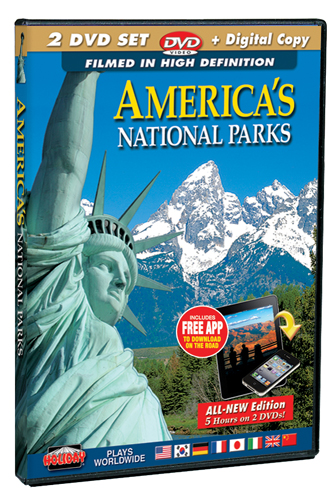 America's National Parks Filmed in HD 2 DVD Set