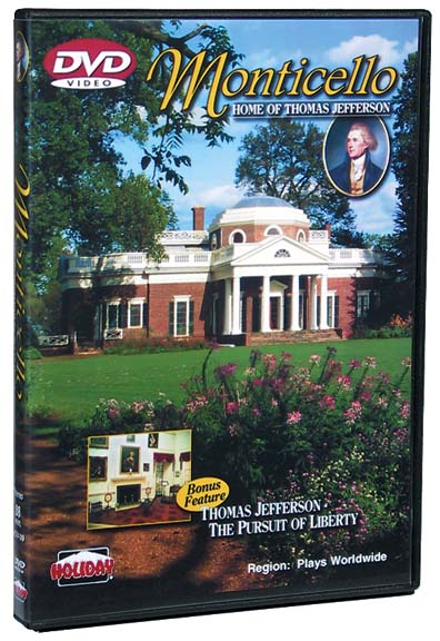 Monticello: Home of Thomas Jefferson DVD