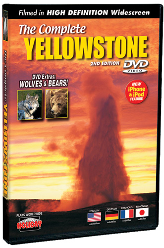 The Complete Yellowstone 2nd Edition Widescreen, DVD