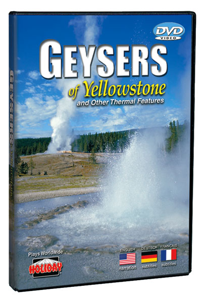 Geysers of Yellowstone DVD