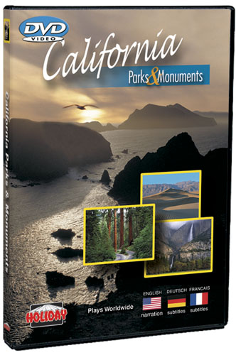 California's Parks and Monuments DVD