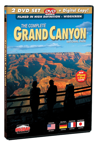 Grand Canyon National Park, 2 DVD Set Filmed in High Definition
