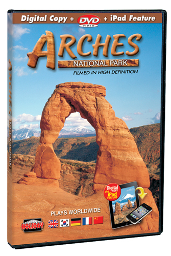 Arches National Park Filmed in HD, DVD