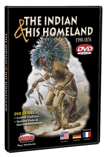 Indian & His Homeland: 1590-1876 DVD