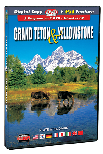 Grand Teton and Yellowstone DVD