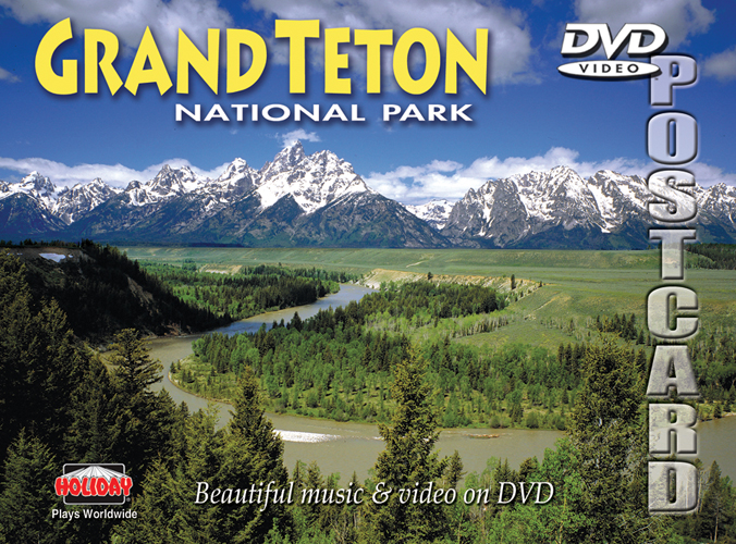 Grand Teton DVD Postcard