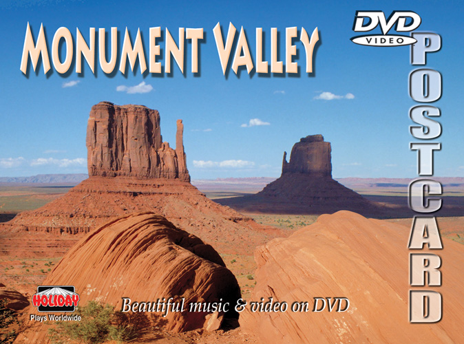 Monument Valley DVD Postcard