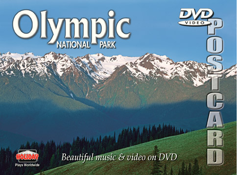 Olympic National Park DVD Postcard