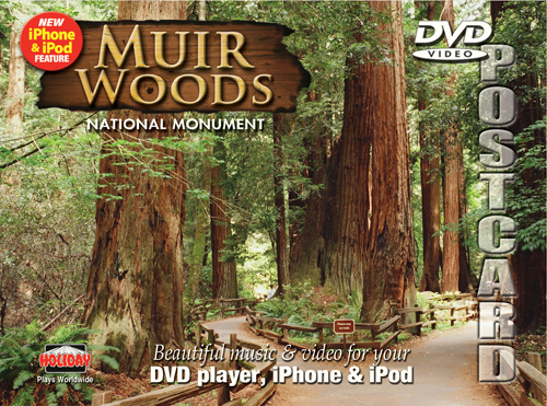Muir Woods, DVD Postcard